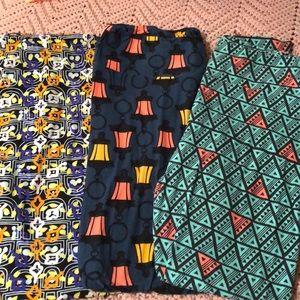 3 pr Lularoe leggings! TC.  Excellent condition